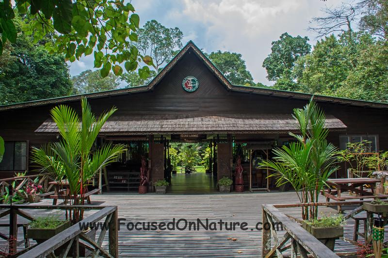 Sukau Rainforest Lodge Lounge