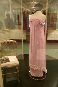 Dress worn by Jacqueline Kennedy the unveiling of the Mona Lisa at the National Gallery of Art on January 8, 1963