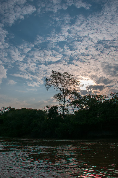 Pre Sunset on Rio Cuiaba