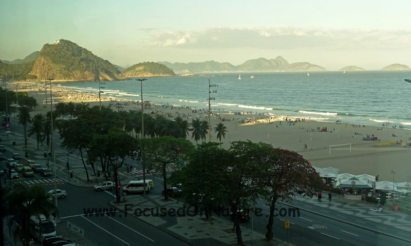 Copacabana Beach from Our Hotel