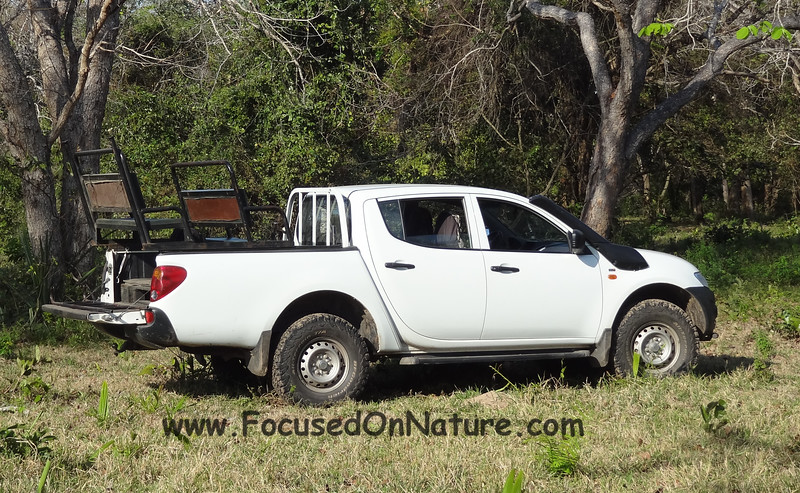 Barranco Alto Game Drive Vehicle