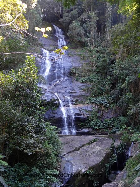 Tijuca National Park Waterfall