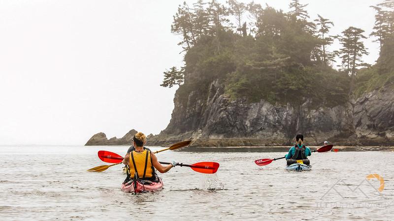 Broken Group Sea Kayaking - Aug 2017