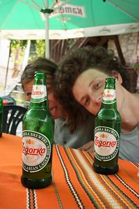 Nejvtipnější místní pivo, bohužel určitě ne nejchutnější...