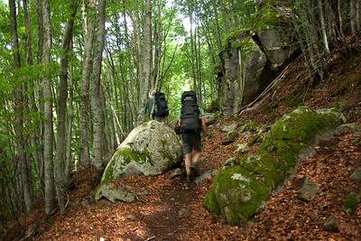 Cestou od Melnických pískových útvarů na Pirin