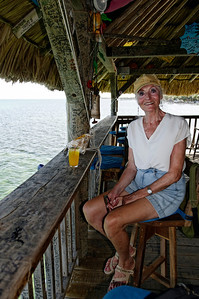 PJ at the Palapa Bar.