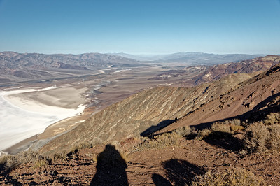 A Mile Above Death Valley