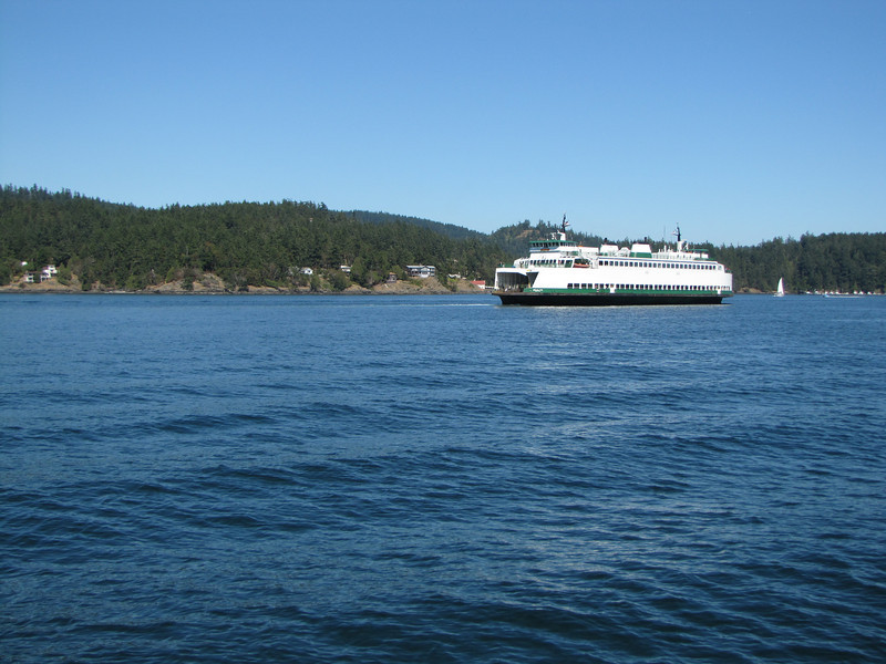 Anacortes, Ferry to Victoria, Vancouver Island, San Juan Islands, Washington and Britisch Columbia