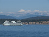 Anacortes, Ferry to Victoria, Vancouver Island, and Mnt Baker 3286m. San Juan Islands, Washington and Britisch Columbia