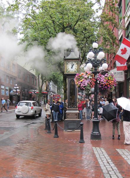 Steam clock, Vancouver, Canada