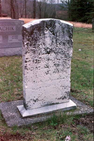 Polish Headstone