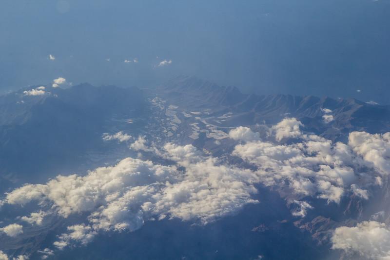 aerial photo Canary Islands