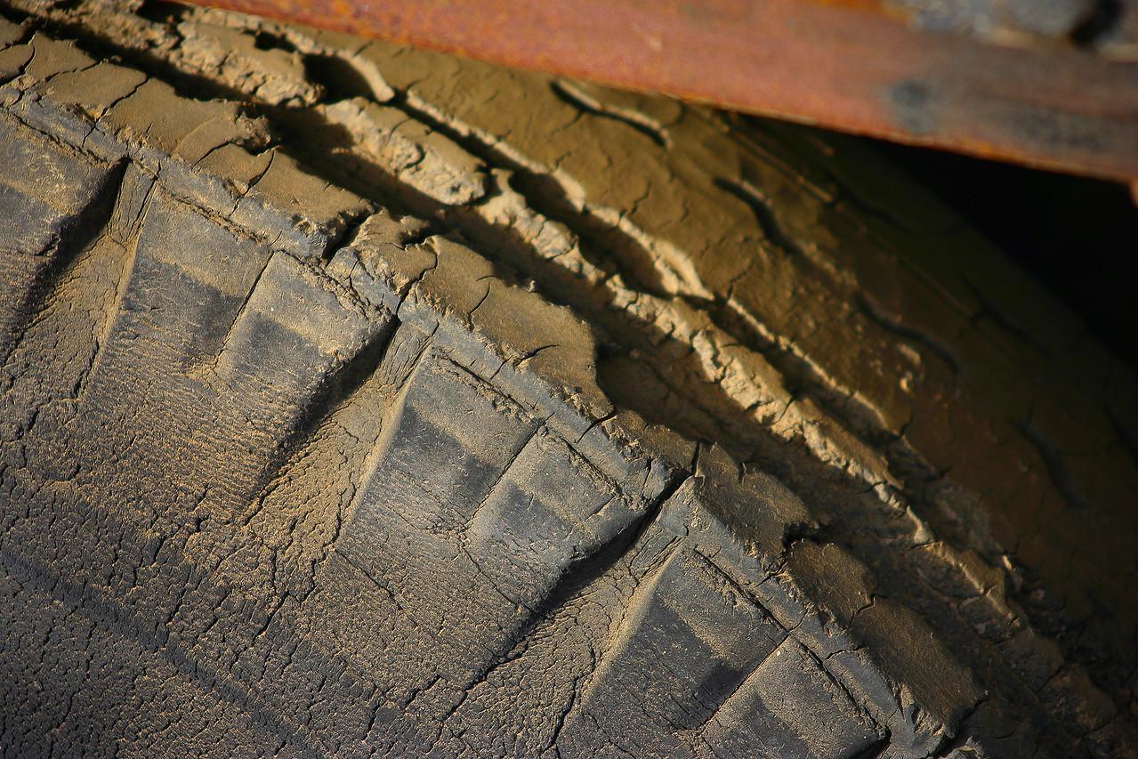 Cracks in a Tire