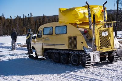 Snowcoach Photo Tour