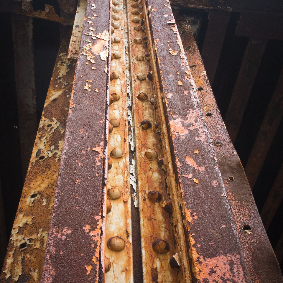 Rusted Beam, Michigan Ave