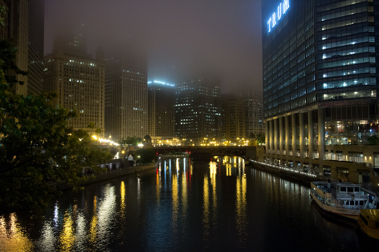 Chicago River at Michigan Ave.