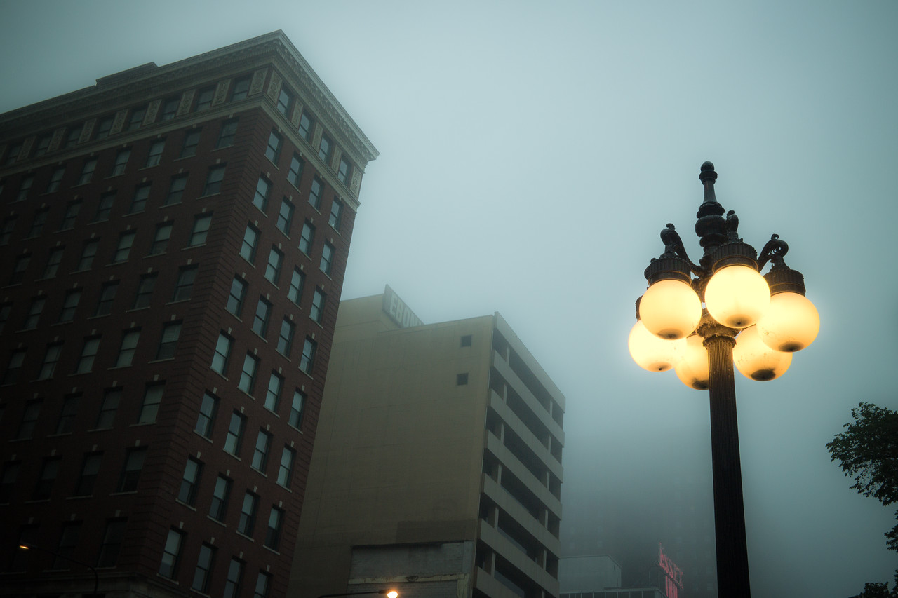 Foggy Morning on Michigan Ave.
