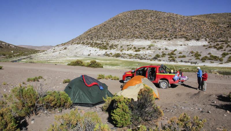 Campsite near Enquelga