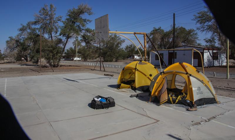 A nice flat campsite :-)