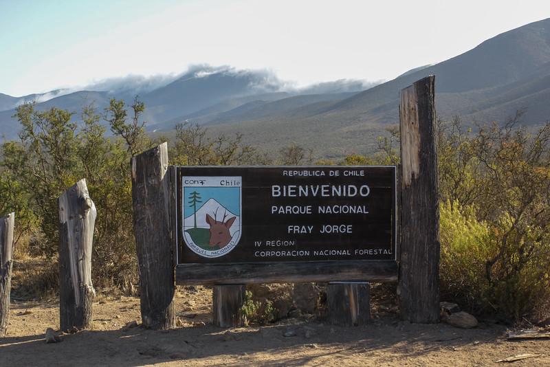 Parque Nacional Bosque Fray Jorge, Coquimbo