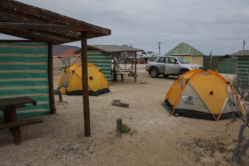 Campsite near Bahia Iglesia