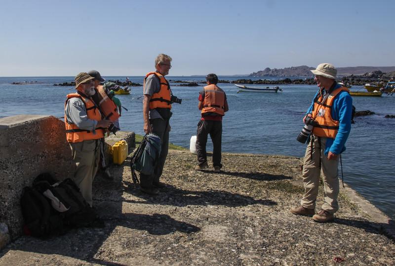 Boattrip to Isla Chanaral