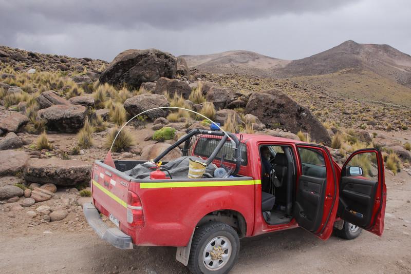 near Sibaya, Reserva Nacional Las Vicuñas, Tarapaca