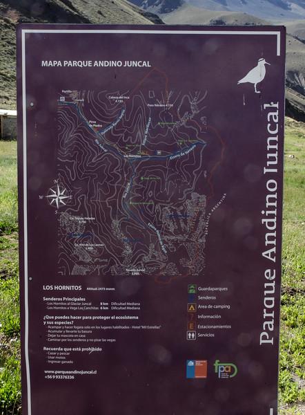 Map, Parque Andino Juncal