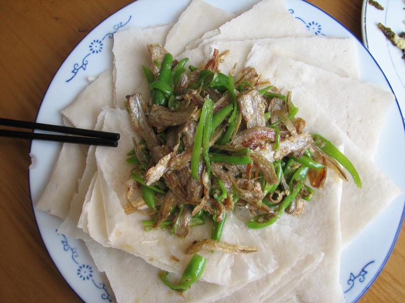 stinking fish, China dish