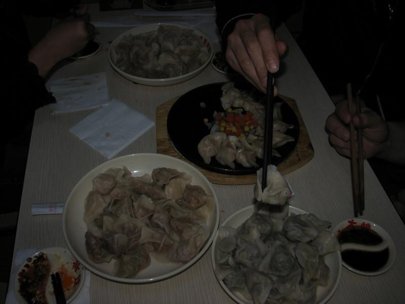 pasta restaurant with China dish