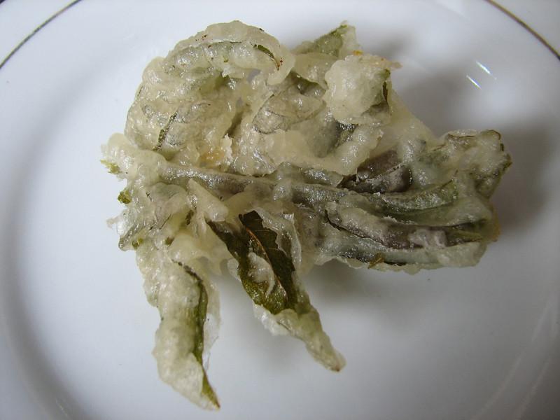 China dish (fried fern leafs)