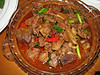 meat, China dish