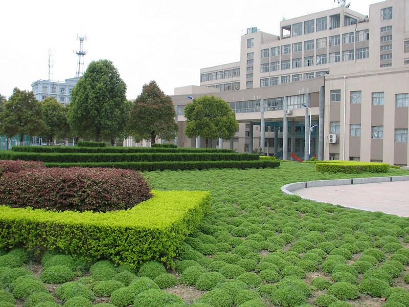 park and gardens, ICVC, Huainan