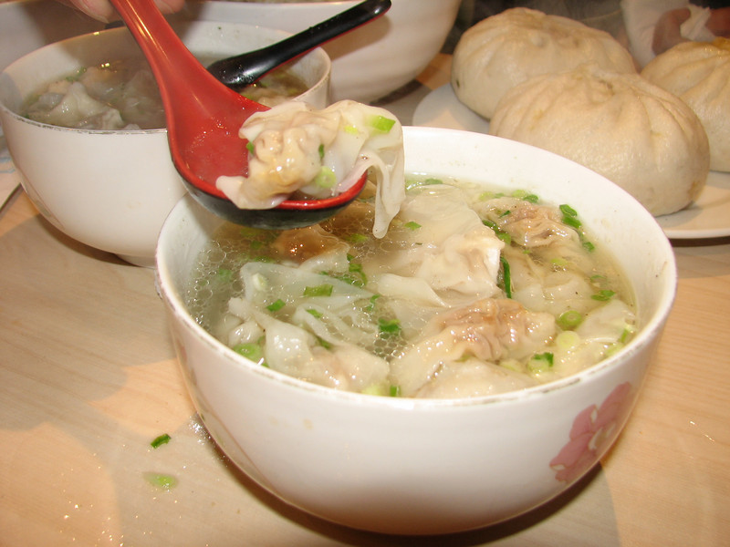 soup with noodles, China dish