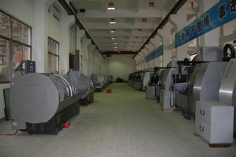 CNC workshop, ICVC, Huainan