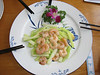 shrimps, China dish