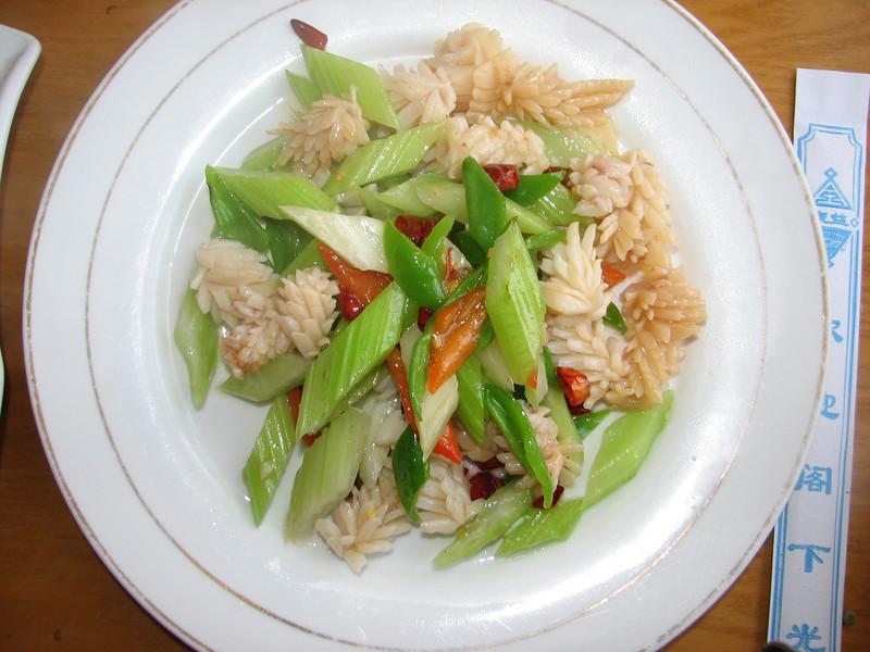cephalopod, (inkfish) China dish