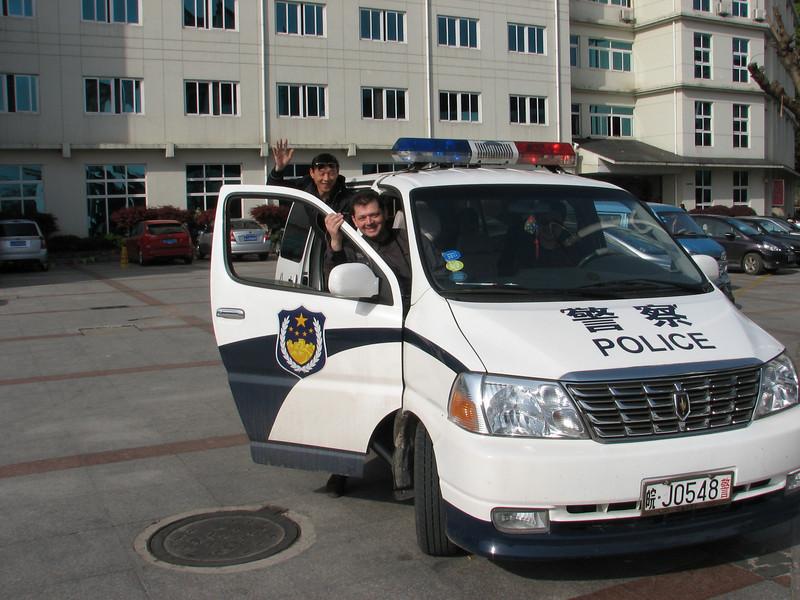 Tunxi, police transport :-))