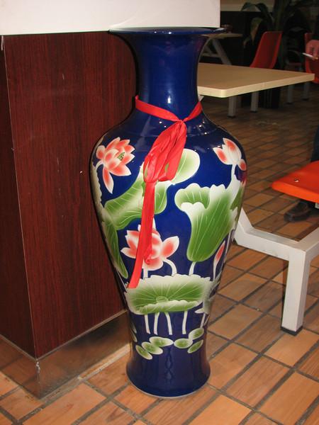 Chinese vase, pasta restaurant, Huainan