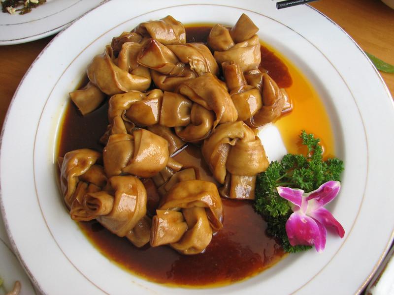 knots, China dish