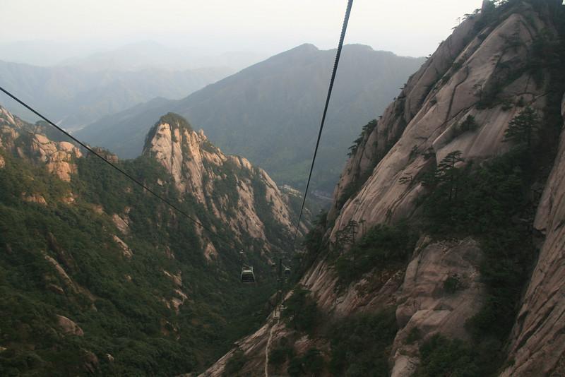 descent, Natonal Park Huangshan, Anhui, East China