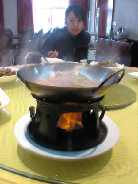 China dish, Shuangxi Hotel, Huang Shan