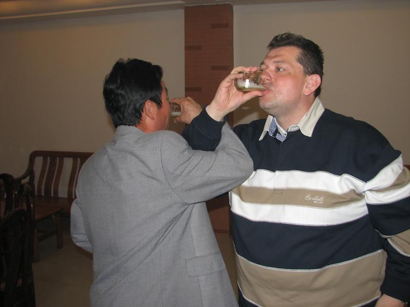 like the Dutch way...farewell party ICVC, Huainan
