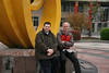 ROC colleagues Raymond Adriaans and Marijn van den Brink, ICVC, Huainan