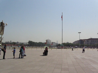 Tiananmen Square Video Panorama