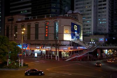 Shanghai night scene