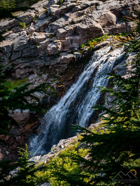 Coe Creek Falls Mount Hood - Aug 2017