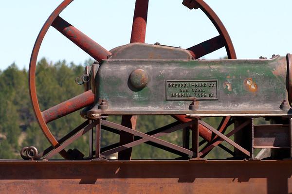 Abandoned Steam Engine