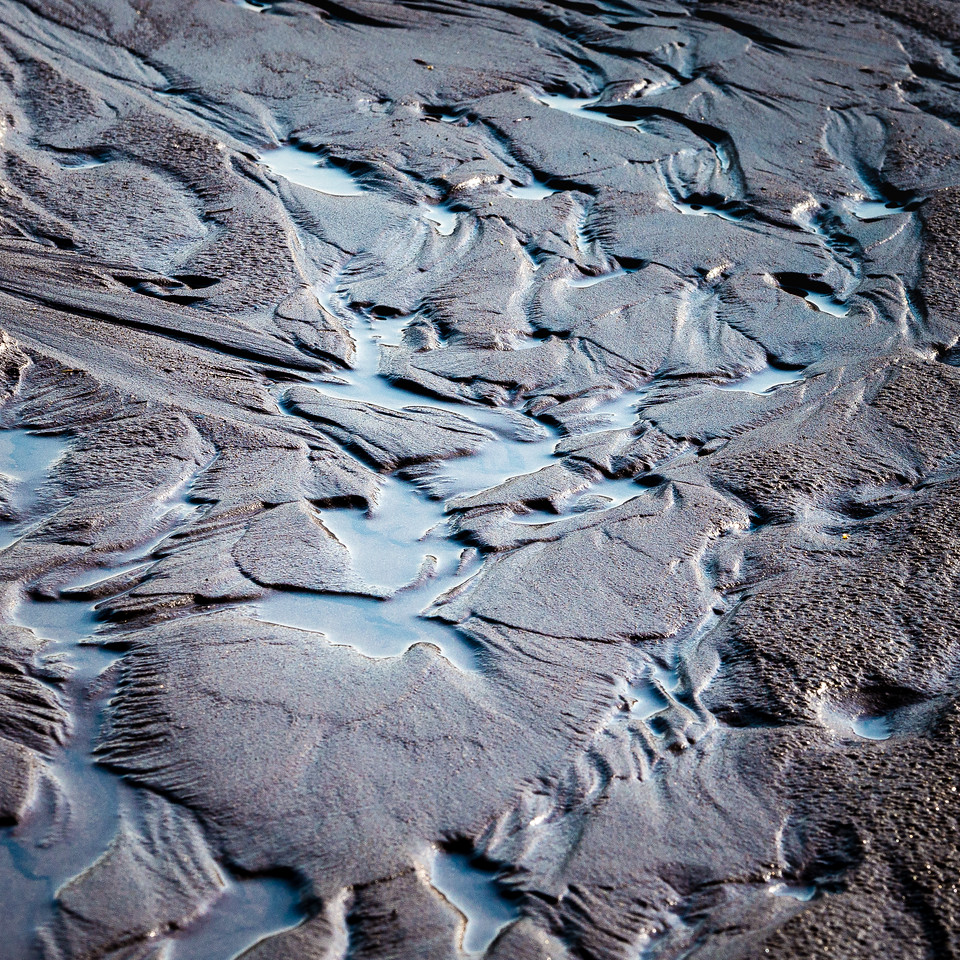 Medano Creek Mud, Great Sand Dunes National Park
