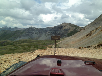 The first of our 3 main goals for this trip was to take our Jeep over Black Bear Pass.  We had done this a couple of times before in rented Jeeps but we were blocked by snow last year.  Getting to this point is a piece of cake as is the next few miles but then it gets a lot worse...